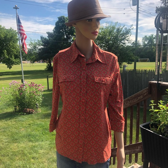 Charter Club Tops - 3/4-Sleeved Blouse Size M